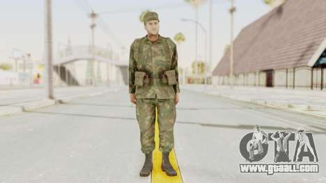 MGSV Ground Zeroes US Soldier Armed v2 for GTA San Andreas second screenshot