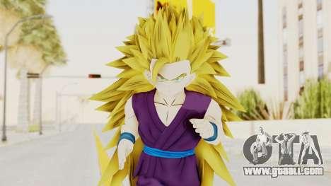Dragon Ball Xenoverse Gohan Teen DBS SSJ3 v1 for GTA San Andreas