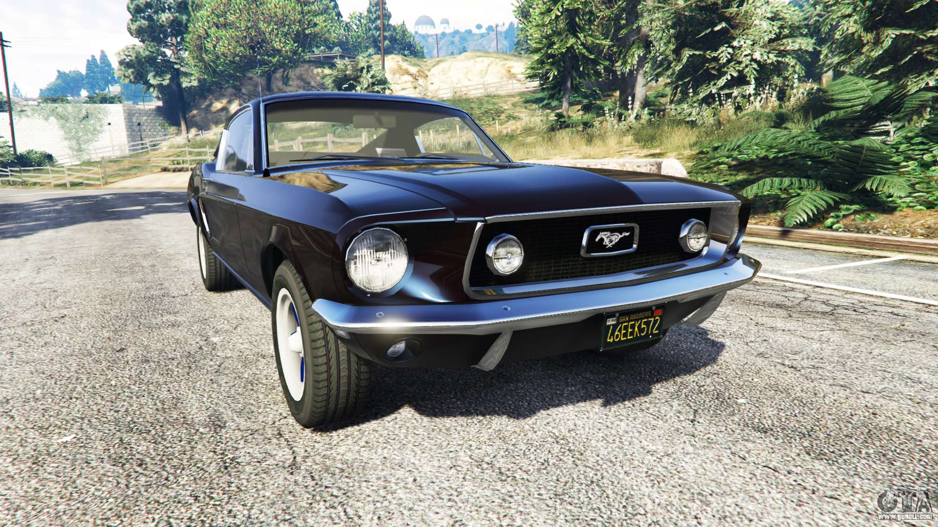 Ford mustang 1968 v1 1 for gta 5