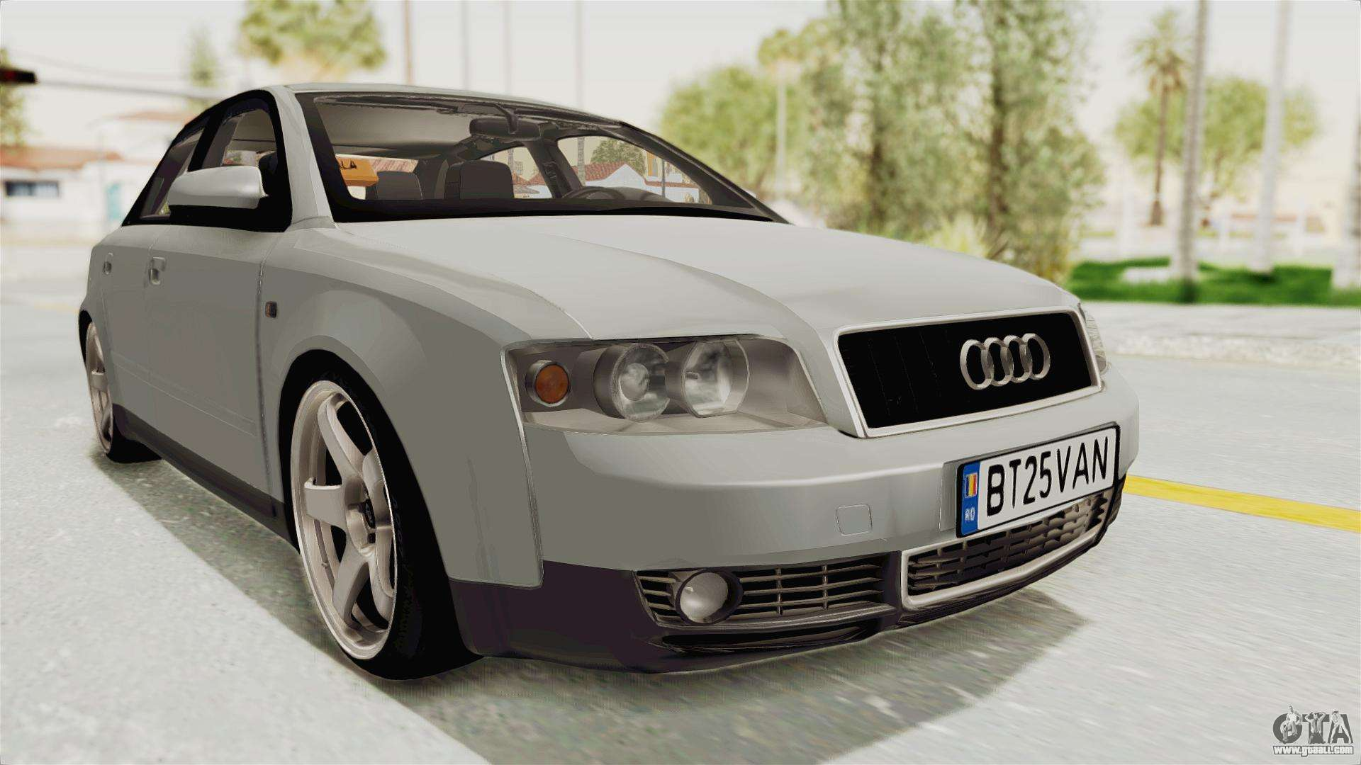 audi a4 2002 stock for gta san andreas. Black Bedroom Furniture Sets. Home Design Ideas