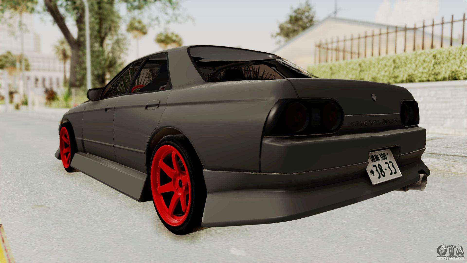 nissan skyline r32 4 door drift for gta san andreas