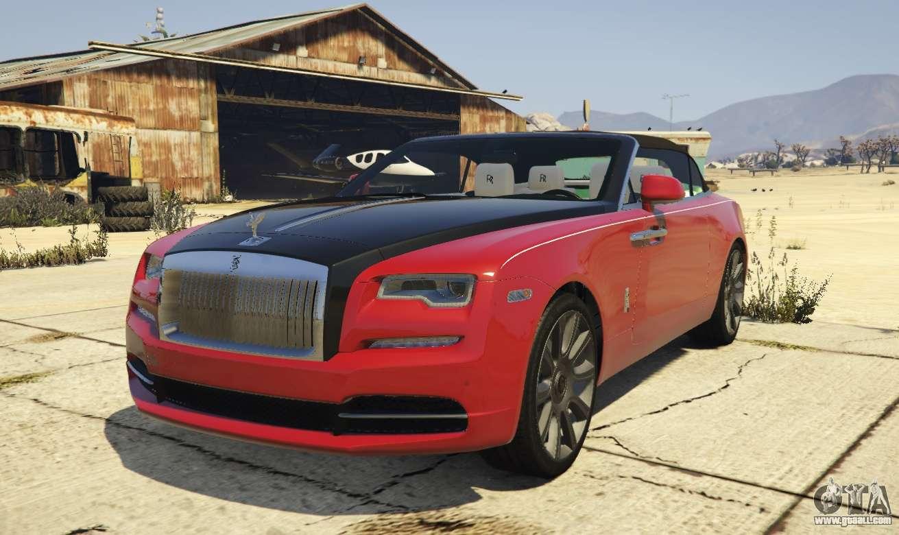2017 Rolls-Royce Dawn for GTA 5 Gta 4 Pc Cars