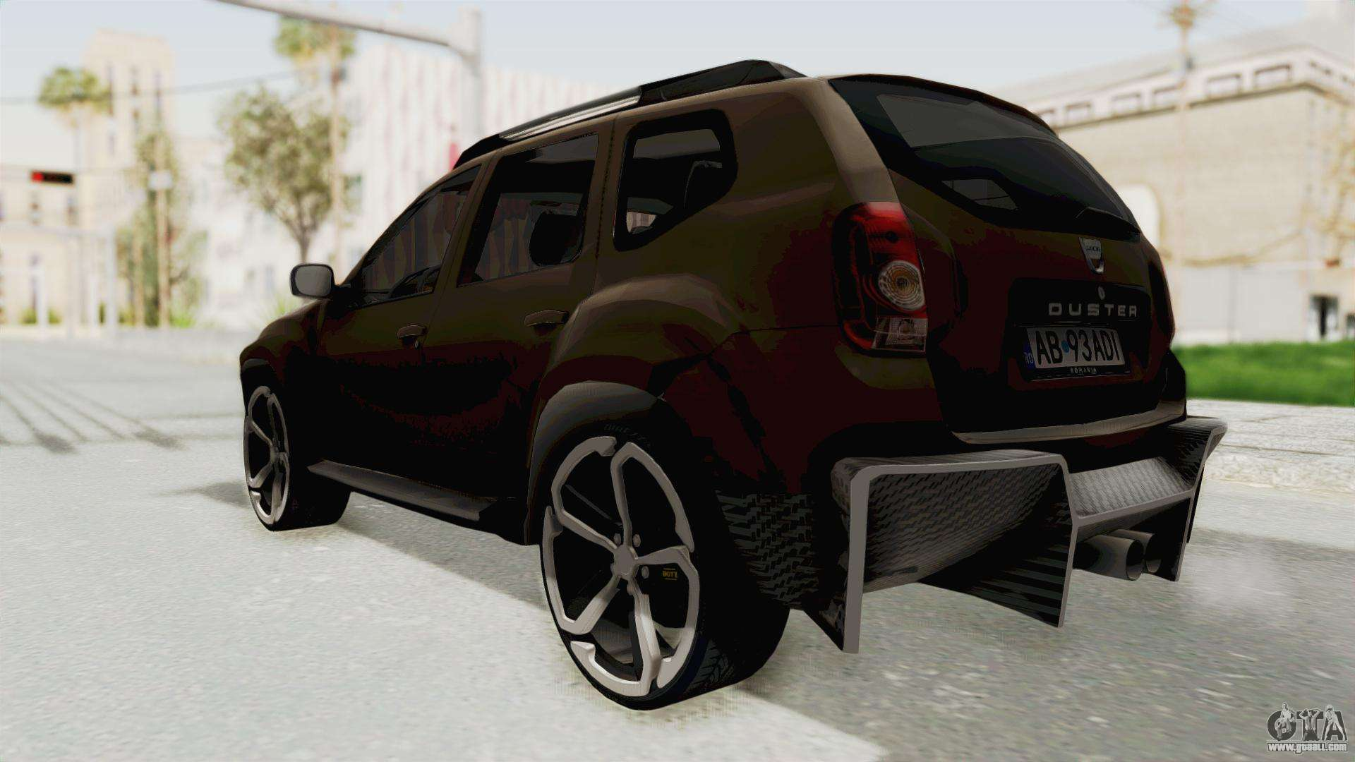 dacia duster 2010 tuning for gta san andreas. Black Bedroom Furniture Sets. Home Design Ideas