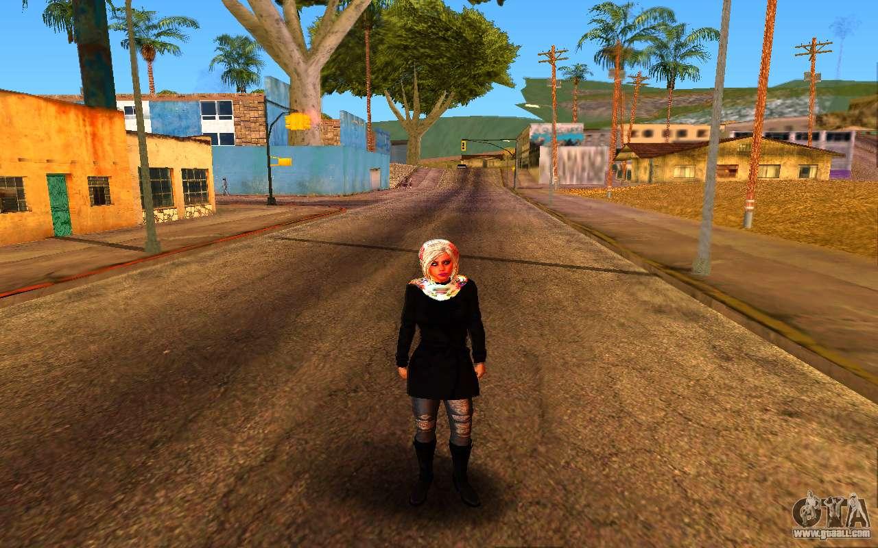 Iranian Girl For Gta San Andreas-8455
