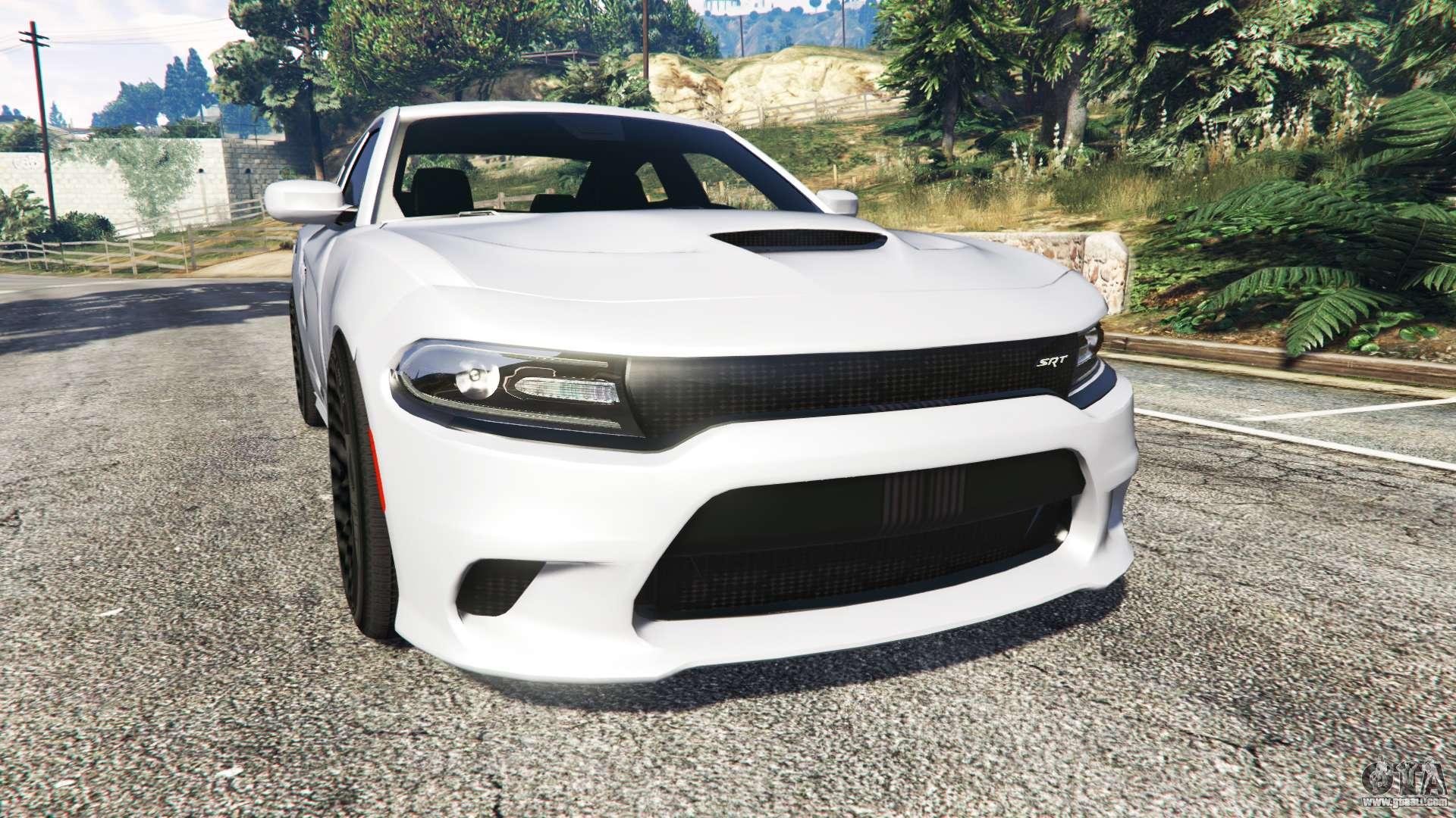 Dodge Charger Srt Hellcat 2015 V1 3 For Gta 5