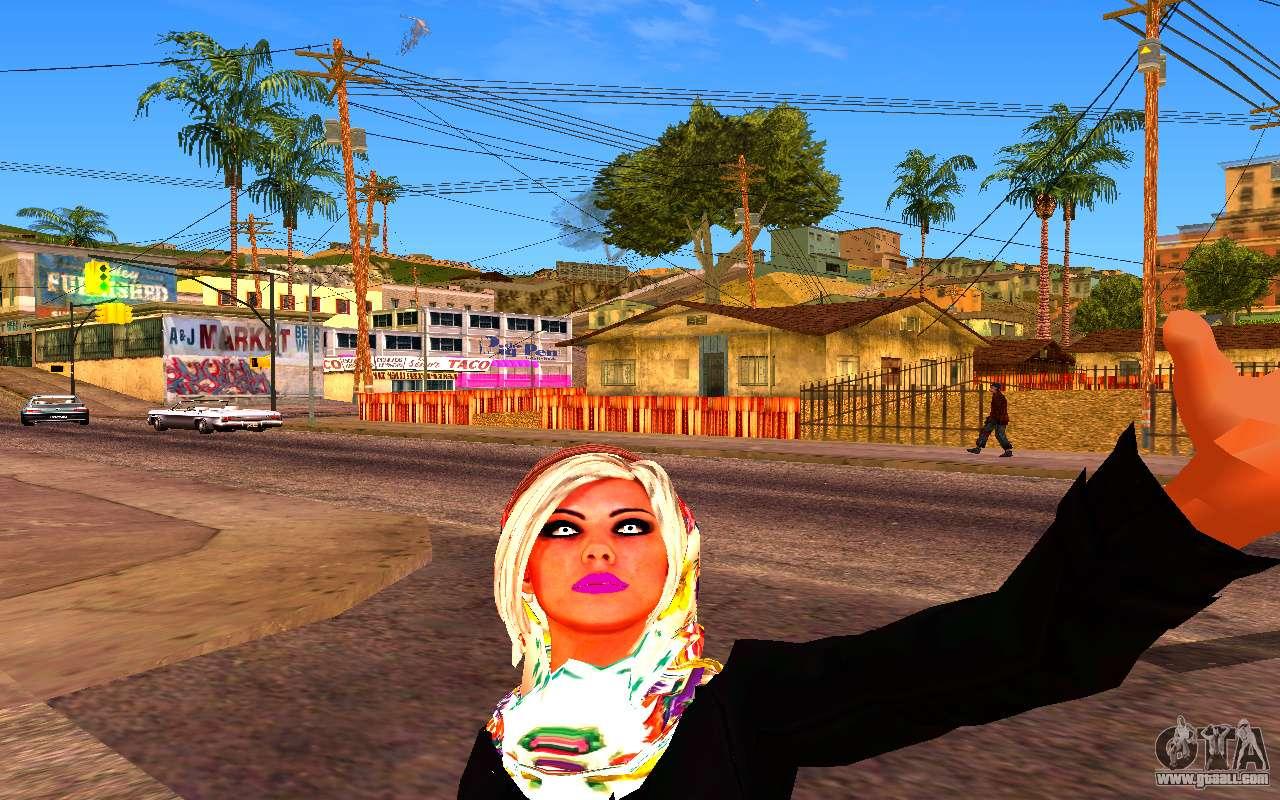 Iranian Girl For Gta San Andreas-5540
