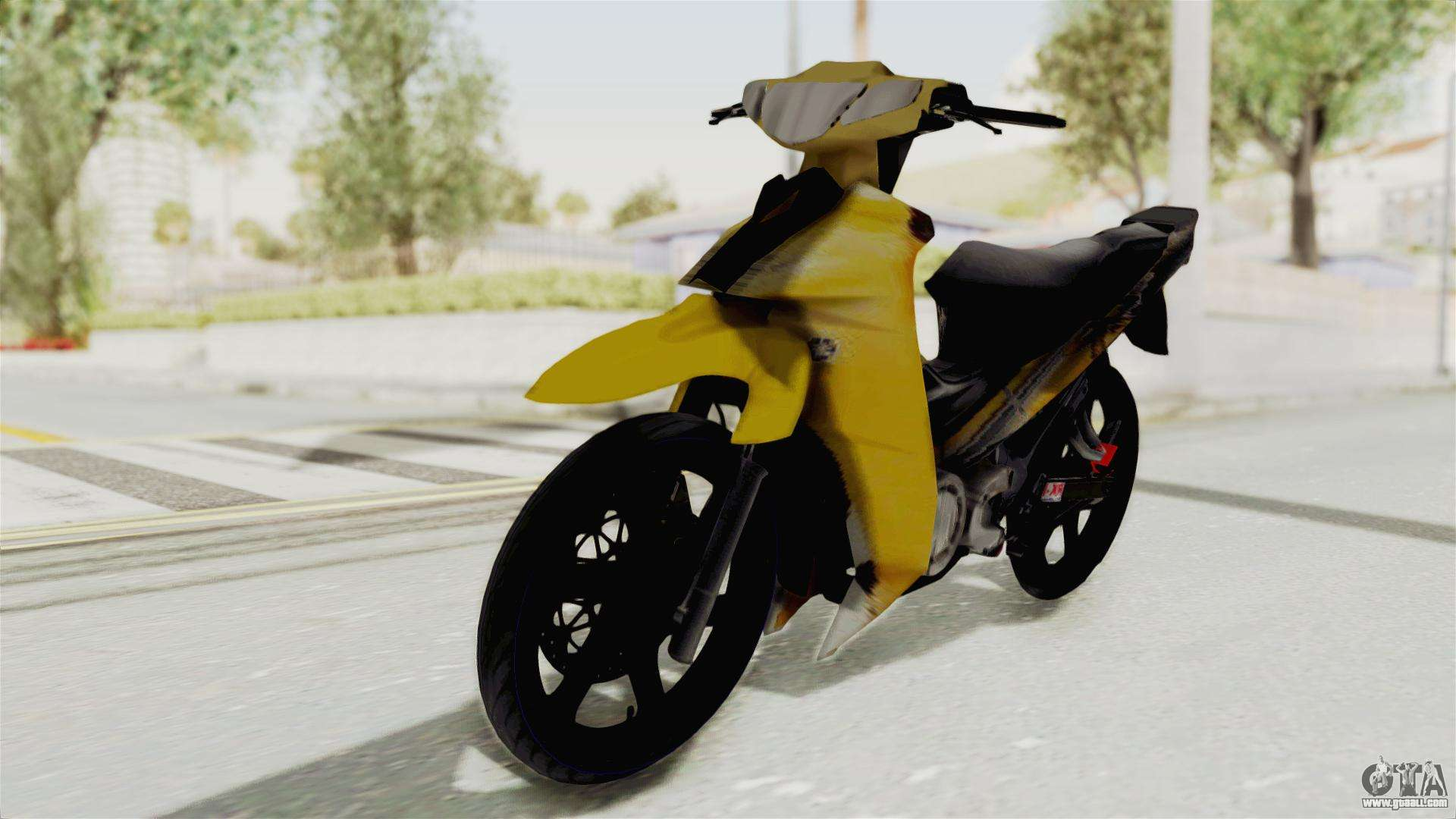 Yamaha 125zr Kuning 2016 For Gta San Andreas