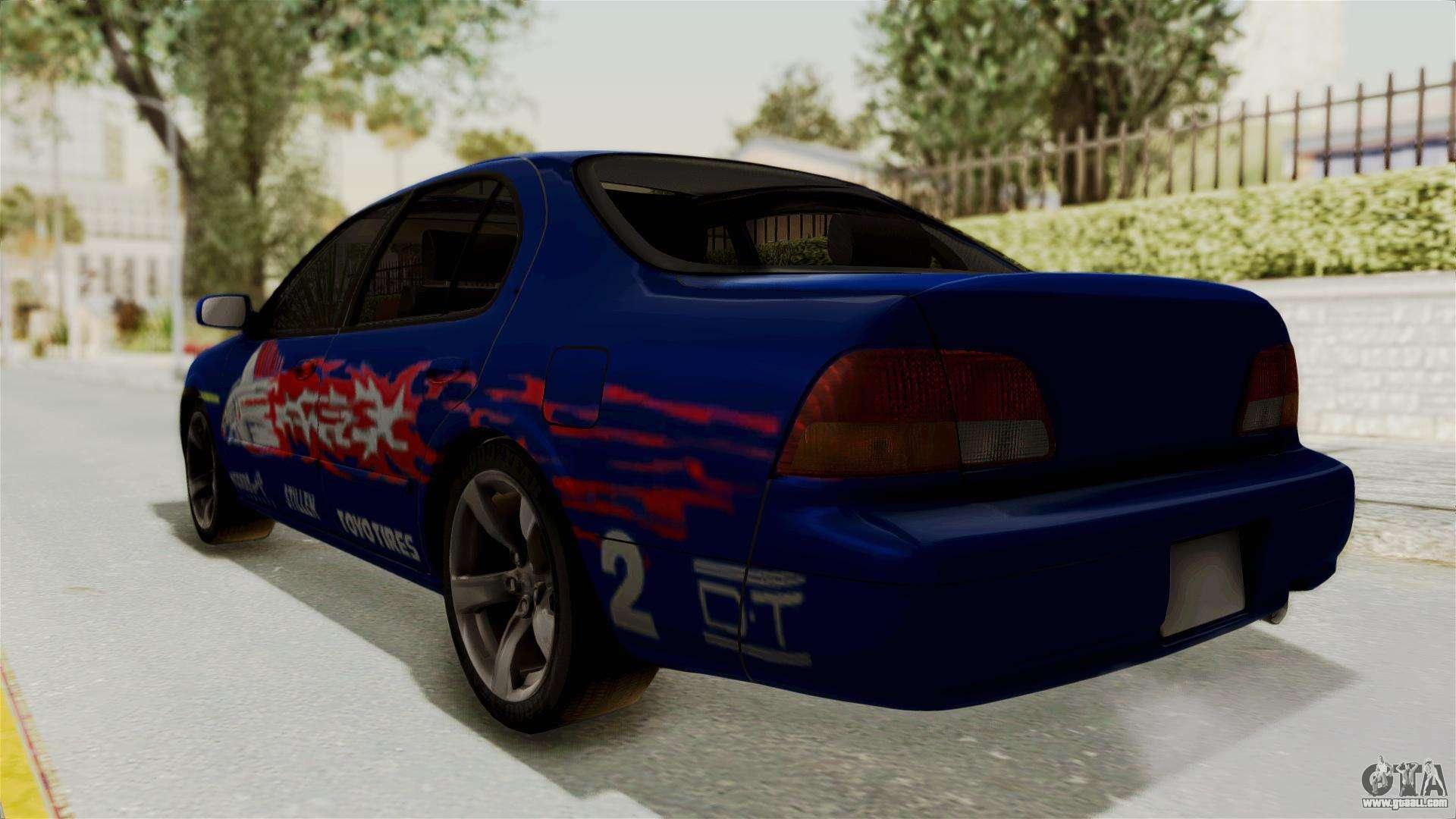 Nissan Maxima Se 1997 Fast N Furious For Gta San Andreas