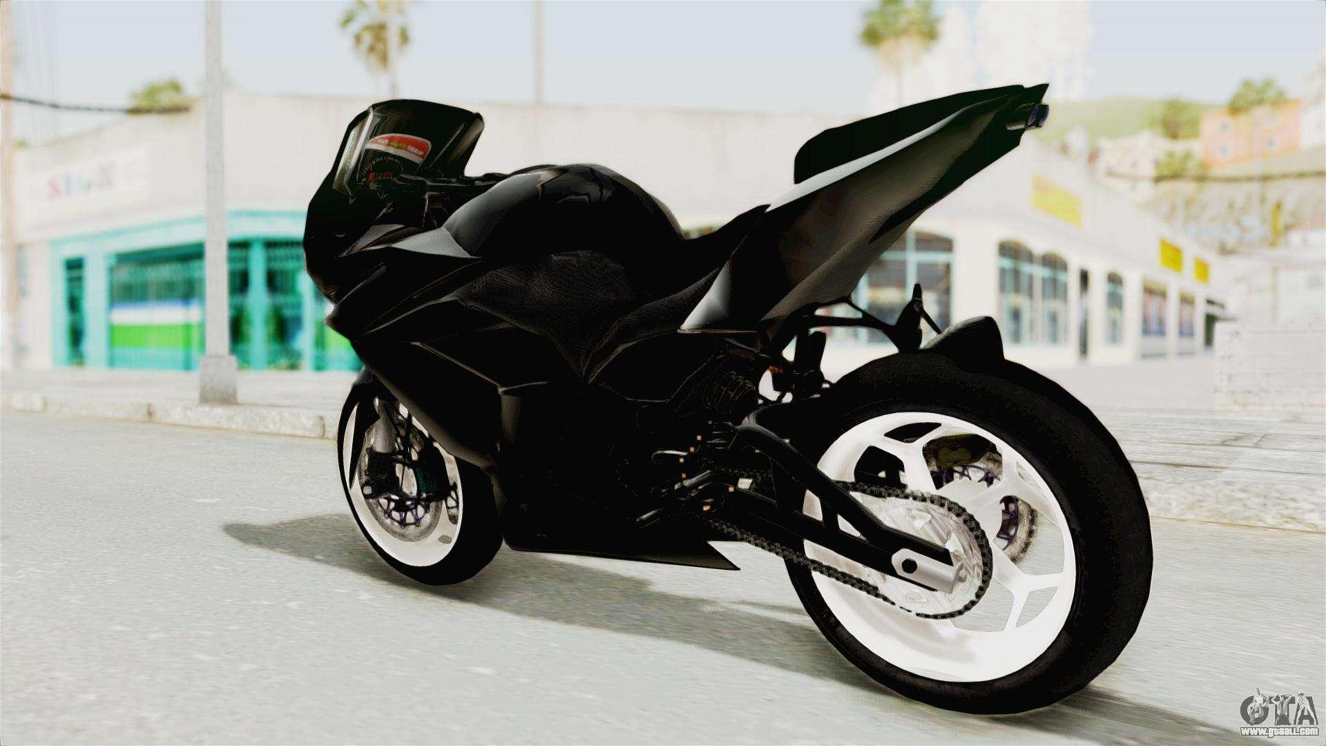 Kawasaki Ninja 250R Black Cobra RnB Anak Jalana for GTA