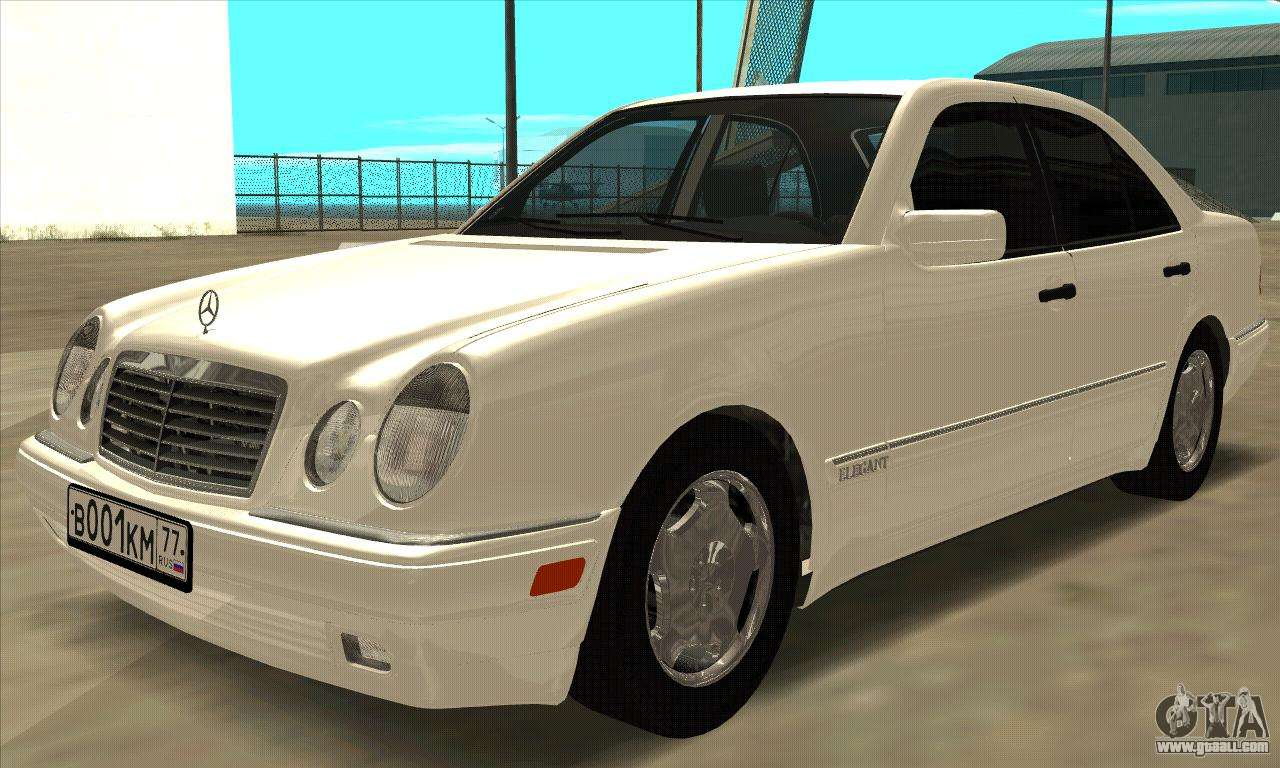 Mercedes benz e420 w210 for gta san andreas for Mercedes benz plant salary