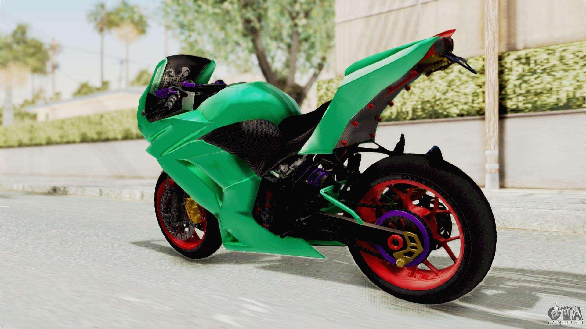 Kawasaki Ninja 250R Race for GTA San Andreas
