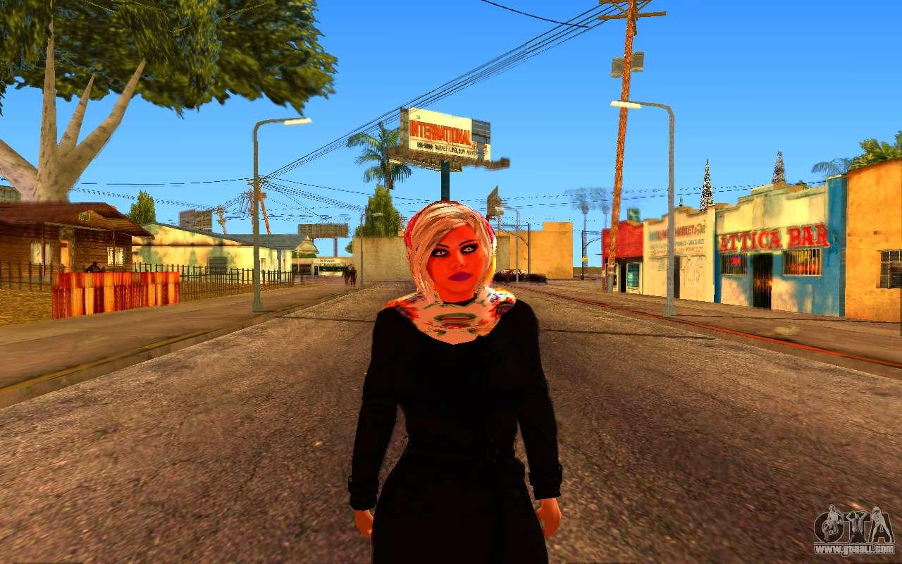 Iranian Girl For Gta San Andreas-6045