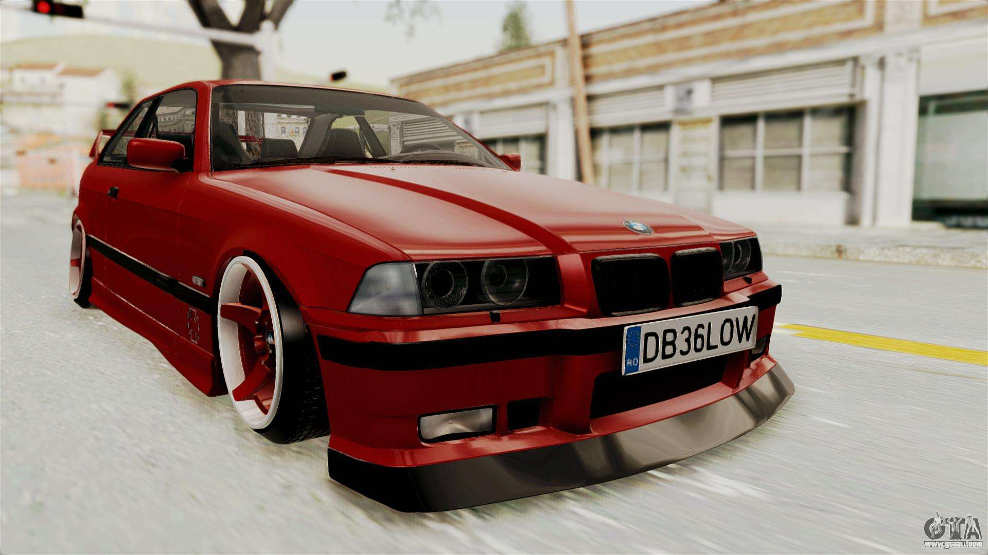 bmw 325i e36 coupe for gta san andreas. Black Bedroom Furniture Sets. Home Design Ideas