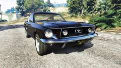 Ford Mustang 1968 v1.1 for GTA 5