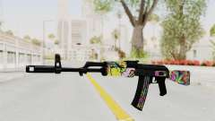 AK-47 Cannabis Camo for GTA San Andreas