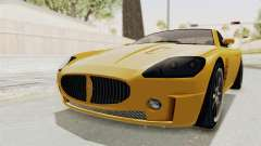 GTA 5 Ocelot F620 SA Lights for GTA San Andreas