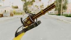 Minigun Gold for GTA San Andreas