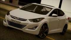 Hyundai ELANTRA 2015 STOCK for GTA San Andreas