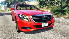 Mercedes-Benz S500 (W222) [bridgestone] v2.1 for GTA 5