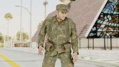 MGSV Ground Zeroes US Soldier Armed v2 for GTA San Andreas