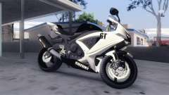 Suzuki GSX-R 600 2015 White for GTA San Andreas
