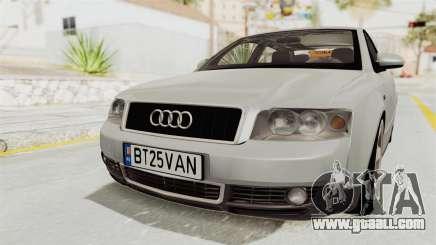 Audi A4 2002 Stock for GTA San Andreas