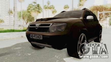 Dacia Duster 2010 Tuning for GTA San Andreas