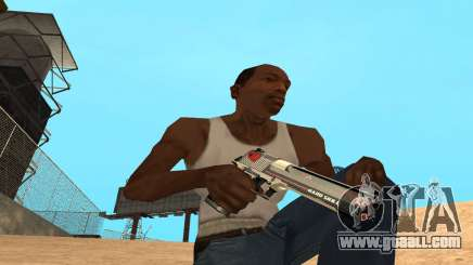 Desert Eagle Cyrex for GTA San Andreas