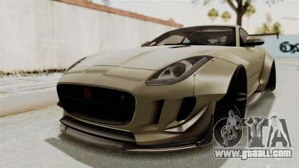 Jaguar F-Type L3D Store Edition for GTA San Andreas