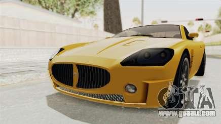 GTA 5 Ocelot F620 SA Lights for GTA San Andreas