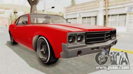 GTA 5 Declasse Sabre GT2 IVF for GTA San Andreas