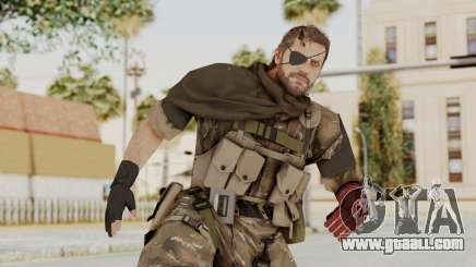 MGSV The Phantom Pain Venom Snake Scarf v9 for GTA San Andreas