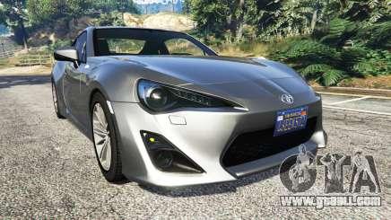 Toyota GT-86 v1.7 for GTA 5