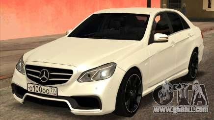 Mercedes-Benz E63 AMG 2014 for GTA San Andreas