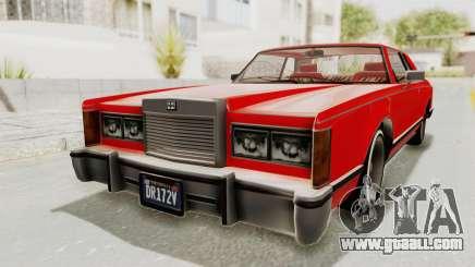 GTA 5 Dundreary Virgo Classic Custom v2 for GTA San Andreas