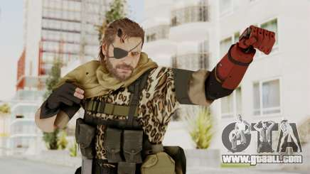 MGSV The Phantom Pain Venom Snake Scarf v8 for GTA San Andreas