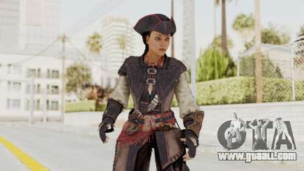 Assassins Creed 4 DLC - Aveline de Grandpré for GTA San Andreas
