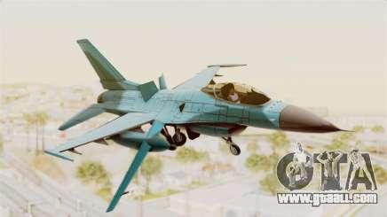 F-16 Fighting Falcon Civilian for GTA San Andreas