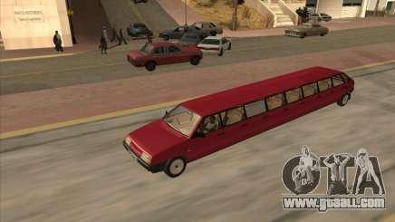 VAZ 2109 17-door for GTA San Andreas