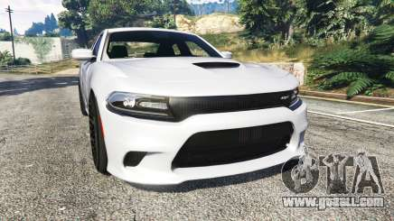 Dodge Charger SRT Hellcat 2015 v1.3 for GTA 5