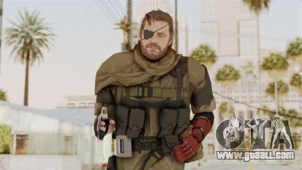 MGSV The Phantom Pain Venom Snake Scarf v1 for GTA San Andreas