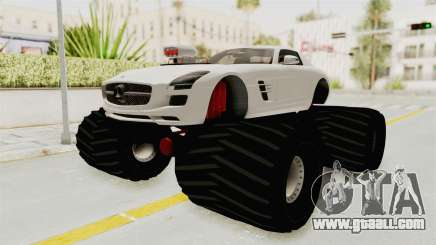 Mercedes-Benz SLS AMG 2010 Monster Truck for GTA San Andreas
