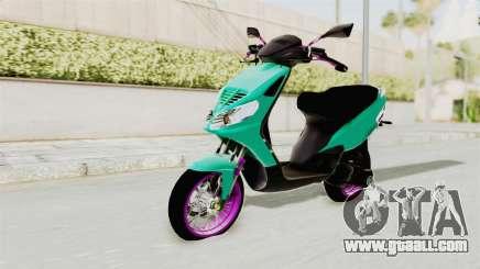 Piaggio 200 CC Lockstyle for GTA San Andreas