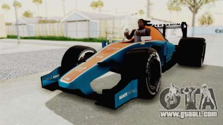 Rio Haryanto 88 F1 Manor Racing for GTA San Andreas