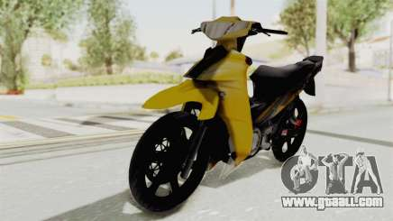 Yamaha 125ZR Kuning 2016 for GTA San Andreas