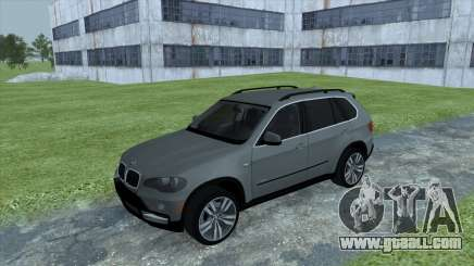 BMW X5 E70 for GTA San Andreas