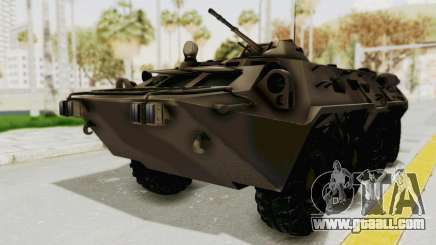 BTR-80 Desert Turkey for GTA San Andreas