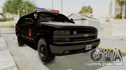 Chevrolet Suburban Indonesian Police RESMOB Unit for GTA San Andreas