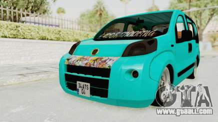 Fiat Fiorino Hellaflush v1 for GTA San Andreas