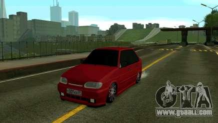 VAZ 2114 KBR for GTA San Andreas